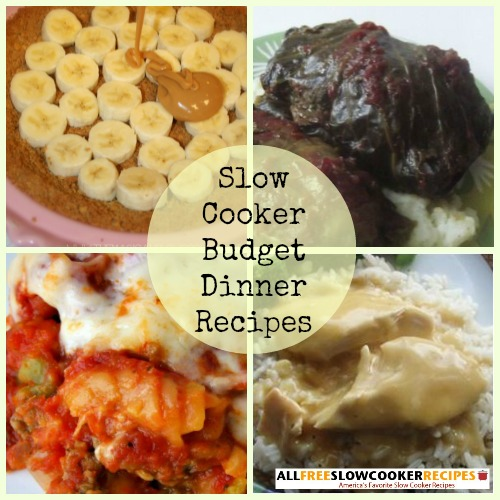 """Cooking on a Budget: 12 Slow Cooker Budget Dinner Recipes"" Free eCookbook"