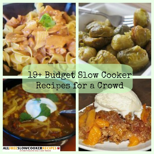 19 Budget Slow Cooker Recipes for a Crowd
