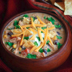 Rich and Creamy Chicken Tortilla Soup