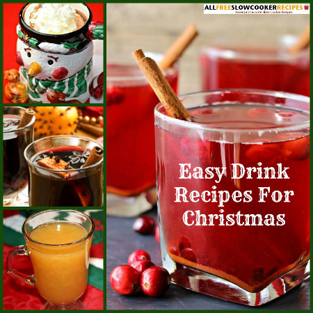 Slow Cooker Drink Recipes for Christmas