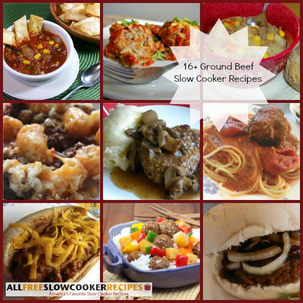 Ground Beef Slow Cooker Recipes