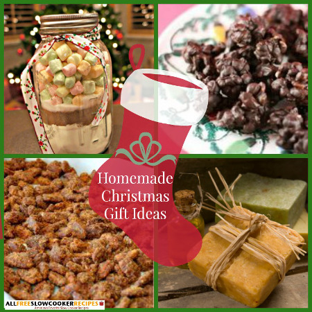 Homemade Soap Recipes and Other Homemade Christmas Gift Ideas