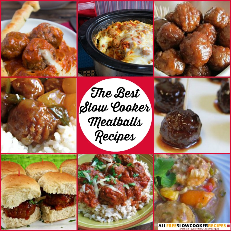 The Best Meatballs Recipes: 22 Easy Slow Cooker Meatballs Recipes ...