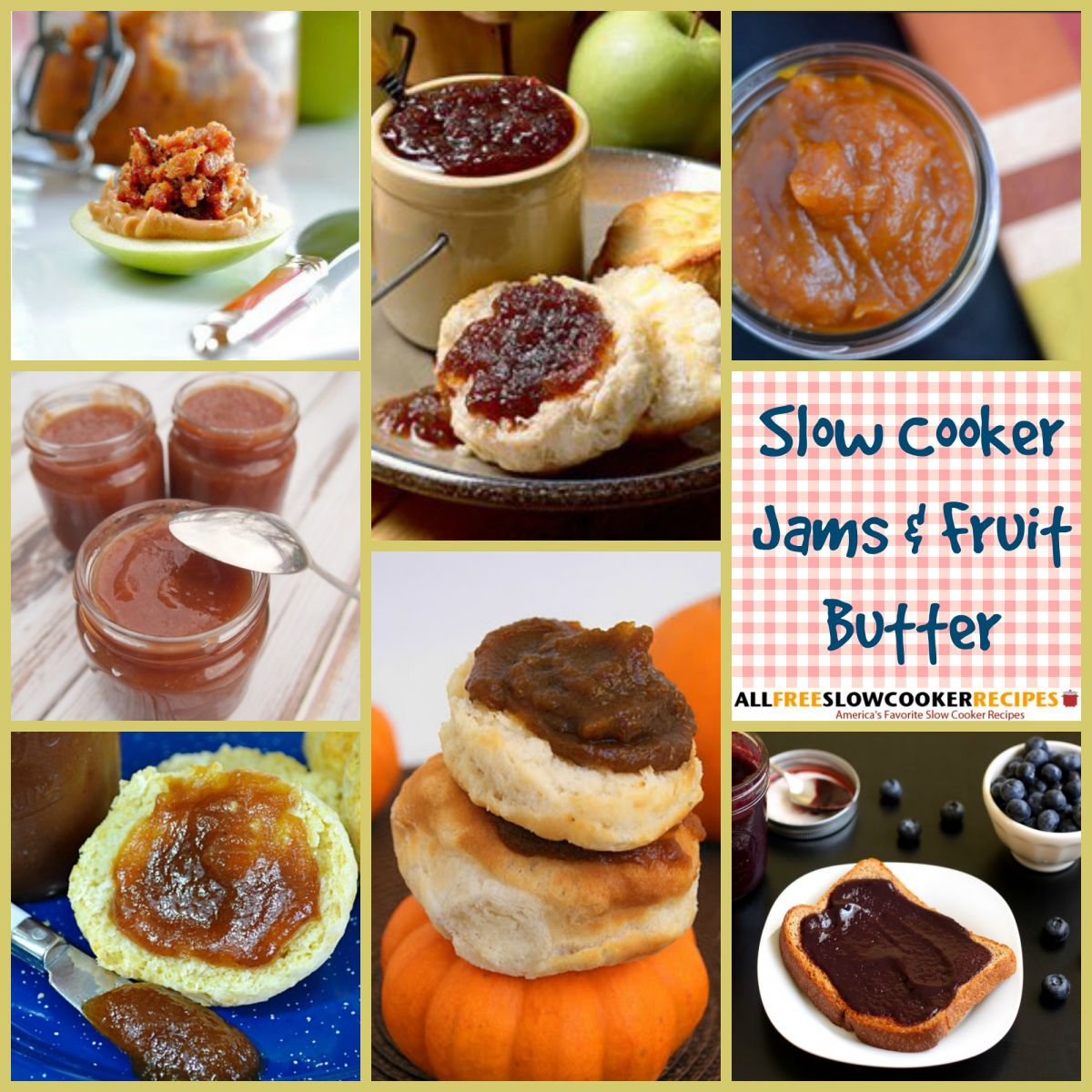 Slow Cooker Jams and Fruit Butter