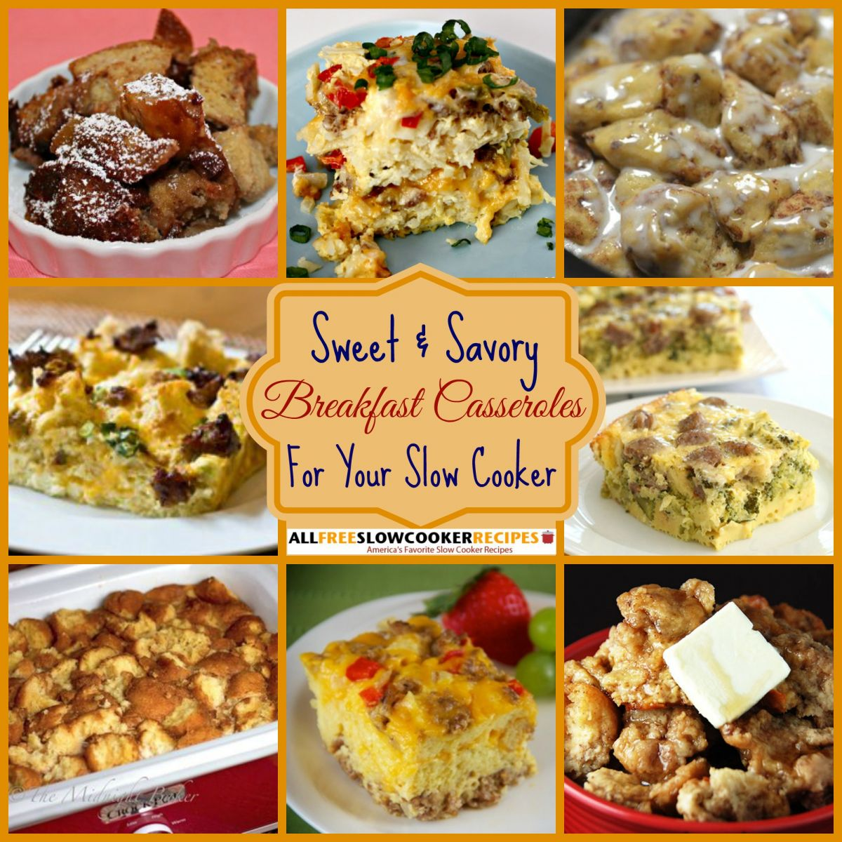Slow Cooker Breakfast Recipes: Breakfast Casserole Recipes: 5 Impossibly Easy Slow Cooker