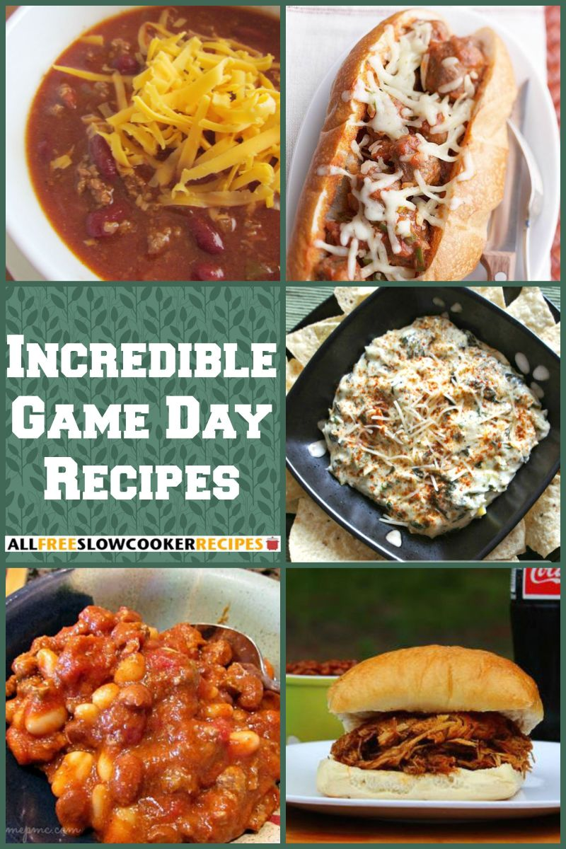 20 Incredible Game Day Food Recipes For The Big Game