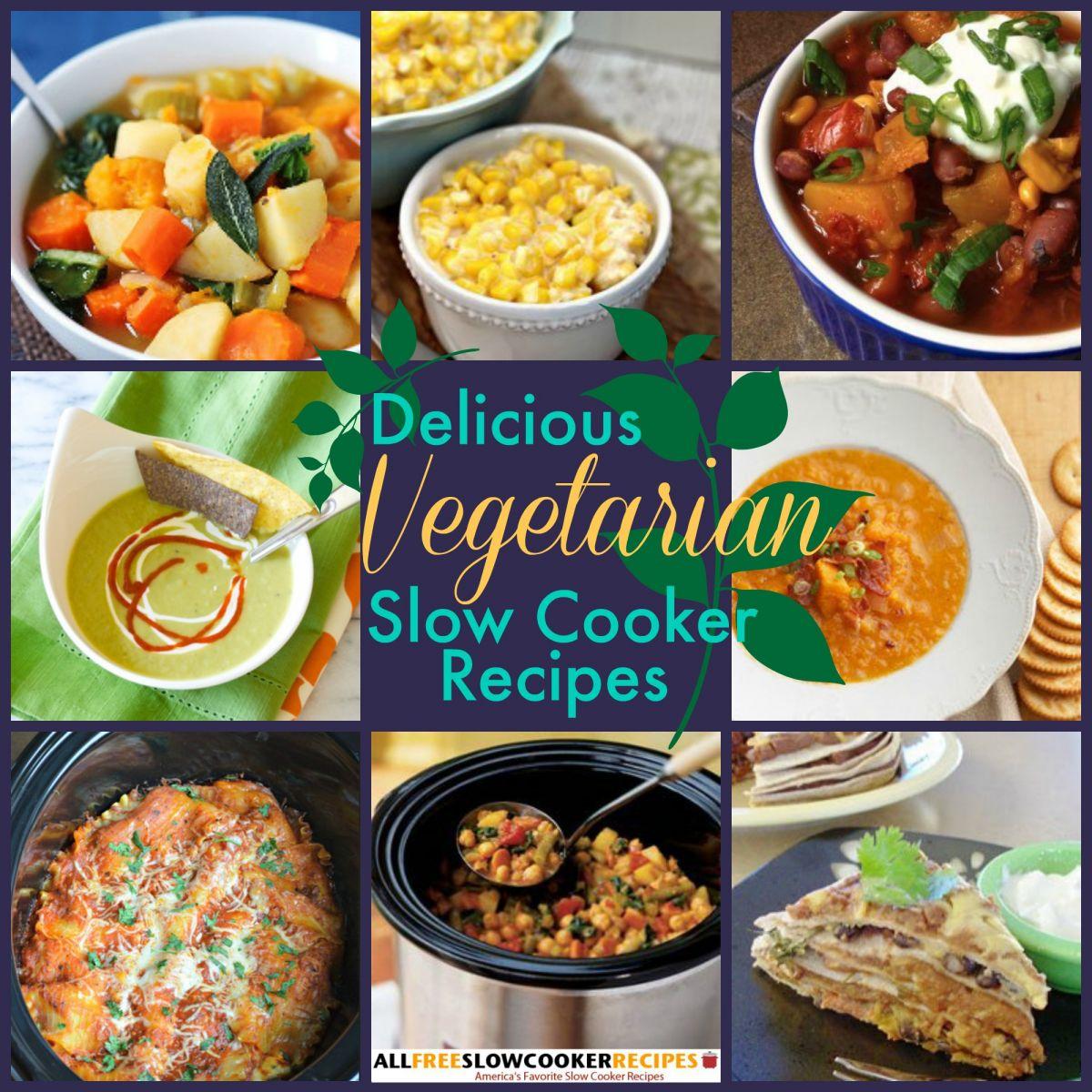 23 Vegetarian Slow Cooker Recipes