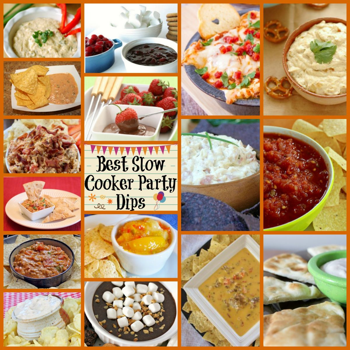 Best party slow cooker dips