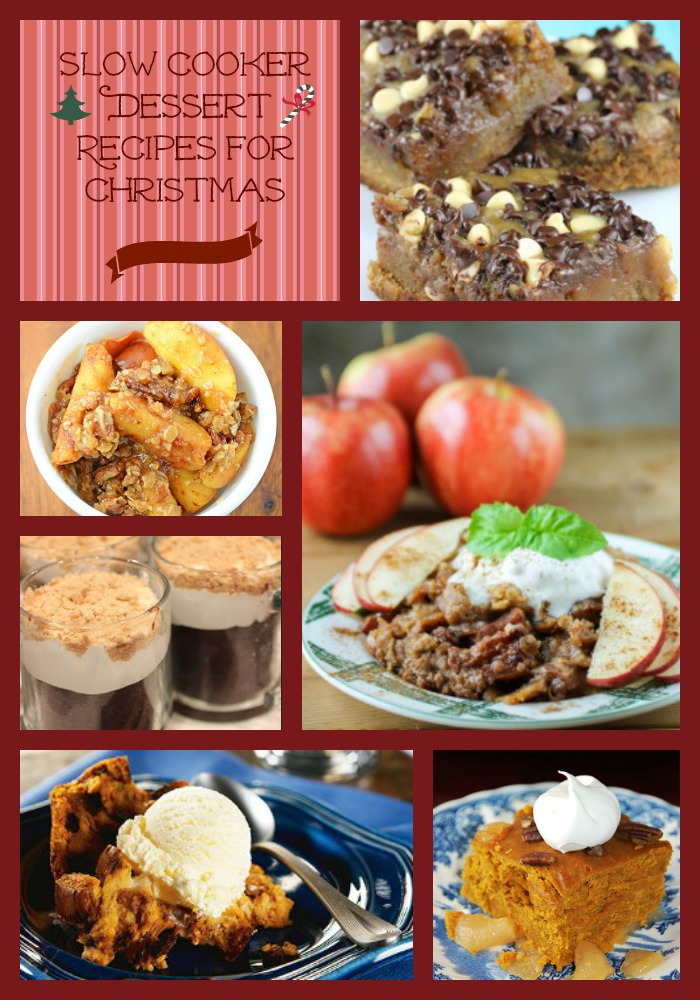 25 Christmas Slow Cooker Dessert Recipes